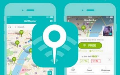 Découvrez la nouvelle application WifiMapper pour atteindre des millions de mots de passe réseaux Wi-Fi partout dans le monde