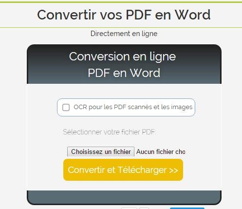 Convertisseur de PDF en JPG - En ligne et gratuit