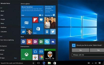 Faites la mise à jour vers Windows 10 avant le 30 juillet