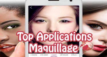 Les 5 meilleures applications de maquillage pour Android: votre maquilleur personnel!