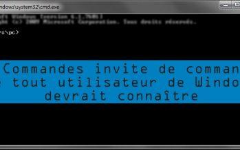 25 Commandes les plus utiles de l'invite de commande que tout utilisateur de Windows devrait connaître