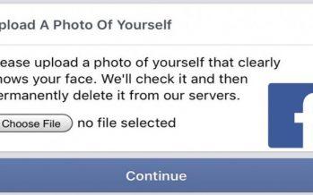 OMG! Le test terrifiant Captcha de Facebook oblige les utilisateurs à télécharger des selfies